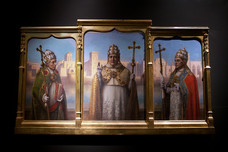 Palace of the Popes Popes' Portraits Avignon France 10675