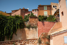 Different Ochre Colors Roussillon France 10813