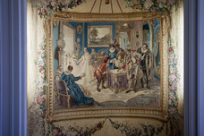 The Tapestry Salon Villa Ephrussi de Rothschild France 10846