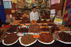Dried Fruits Seller Fez Morocco 11598