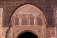 Carvings Ben Youssef Madrasa Morocco 11618