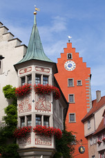 Architectural Details Old City Meersburg Germany 12033