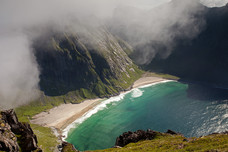 Kvalvika Beach Ryten Norway 12601