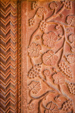 Carvings Fatehpur Sikri India 12647