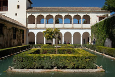 Alhambra Generalife The Cypress Courtyard Granada Spain 12654