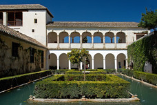 Alhambra Generalife The Cypress Courtyard Granada Spain 7925