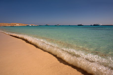 Beach Waves Mahmya Island Egypt 9385