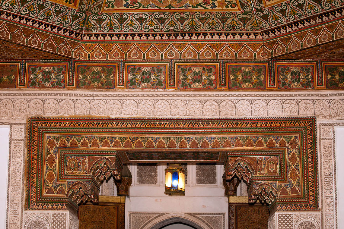 Decorations Bahia Palace Morocco 11655