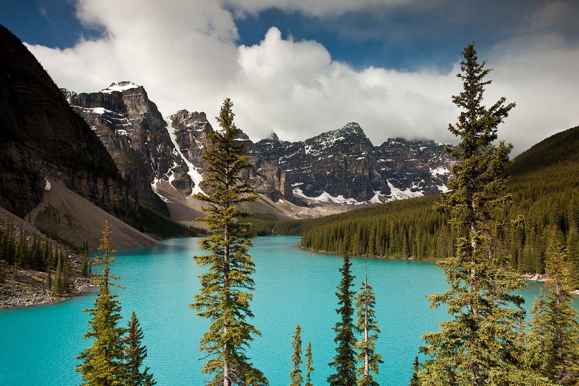 Moraine Lake Rockpile Trail Canada 13166